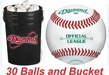 "30 Diamond DBX Baseballs and Black Cushion Lid Bucket ComboW/New Duracover ""NEW"""