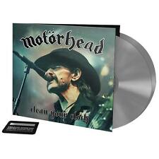 Motörhead - Clean your clock Double-LP incl. Download-Card (SILVER-GREY VINYL)