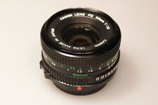 CANON FD 50mm 1:1.8 PRIME LENS W/REAR CAP EXCELLENT+++