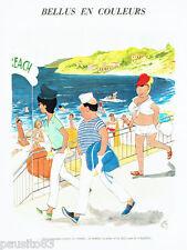 PUBLICITE ADVERTISING 056  1965  Dessin Jean Bellus