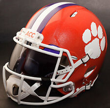 ***CUSTOM*** CLEMSON TIGERS NCAA Riddell SPEED Full Size Replica Football Helmet