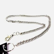 NEW Silver Link Biker Trucker Punk Keychain Jean Wallet Heavy Chain