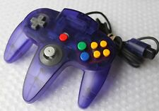 *Super Nice* OEM Nintendo 64 GRAPE PURPLE Funtastic Controller Atomic Clear Rare