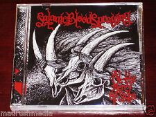 Satanic Bloodspraying: At The Mercy Of Satan CD 2012 Hells Headbangers 085 NEW