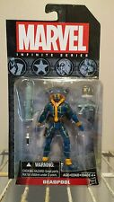 "MARVEL UNIVERSE DEADPOOL BLUE X-MEN 3.75"" ACTION FIGURE HASBRO MIB"