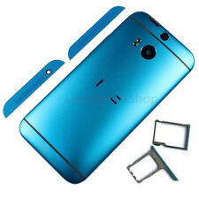 Blue Original HTC One M8 Battery Cover Back Case Rear Housing Door Replacement