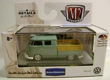 1961 '61 VOLKSWAGEN VW DOUBLE CAB TRUCK USA M2 MACHINES DIECAST 2016