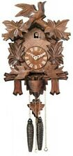 "NEW Genuine Black Forest 1-Day Cuckoo Clock 13""  Model 15-13 -  GREAT GIFT!"