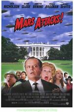 MARS ATTACKS MOVIE POSTER AWESOME VIDEO VERSION WAY BETTER THEN THE THEATRICAL!!