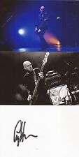 THE MISSION/THE ALARM: CRAIG ADAMS SIGNED 6x4 WHITECARD+2 UNSIGNED PHOTOS+COA