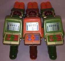Lot Of (3) Tiger Laser Tag Lazer (2) Green (1) Orange