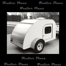 Best Teardrop Camper Trailer Plans Available! Trailer Plans, Teardrop Plans