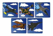 15 Jet Air Plane Stickers Kid Military Party Goody Loot Bag Filler Favor Supply