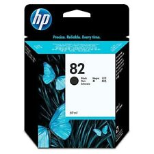 ORIGINAL & BOXED HP82 / CH565A BLACK INK CARTRIDGE - SWIFTLY POSTED