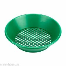 "Garrett Gold Pan Panning Classifier Mesh 1/2"" Screen Sifter Metal Detecting+FREE"