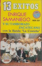Enrique Samaniego 13 Exitos Cassette New Sealed