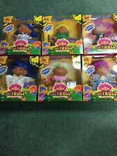 New In Box Totally Trolls Set 2001 Complete Set