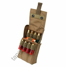 CONDOR MA61 MOLLE 25 Round 12 Gauge Shells ShotGun Reload Pouch TAN