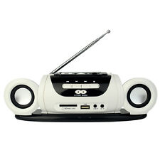 Mini Stereo FM Radio Speaker USB SD Card Music Player+Rechargeable Battery Hot
