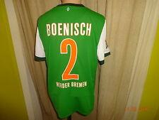 "Werder Bremen Nike Trikot 2009/10 ""SO GEHT BANK HEUTE"" + Nr.2 Boenisch Gr.M Neu"