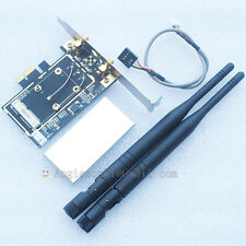 High quality Mini PCI-e to PCI-e 1x 16x adapter for wireless wifi bluetooth card