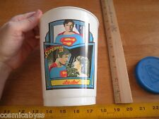 Superman IV Lois Lane VINTAGE slurpee cup #2 Christopher Reeve