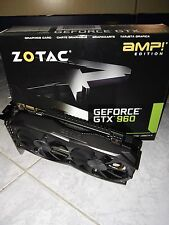 Scheda Video Gpu Nvidia Zotac GTX960 GeForce AMP! EDITION