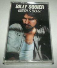 BILLY SQUIER ENOUGH IS ENOUGH CASSETTE TAPE SEALED