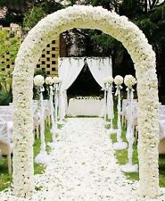 7.9 ft Metal Arch Wedding Party Bridal Prom Hotel Garden Floral Decor Green