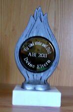 Pokal mit Sonderemblem graviert Ideal für ABI Führerschein 1. Schultag  Jubiläum
