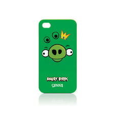 Gear4 Angry Birds Maiale King Case per Apple iPhone 4-Verde