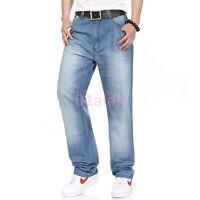 Men Street classic Hip Hop Plus SZ Jean loose New baggy denim Pant Vogue Trouser