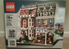 LEGO Creator Modular Building Pet Shop set 10218 Brand New and Sealed