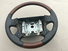 Range Rover P38 Autobiography Walnut Steering Wheel Black Leather