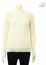 CLAIRE Ladies Mohair Mix Cable Knit Jumper BNWT