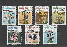 Kambodscha MiNr. 673 - 679 gestempelt, Blumen