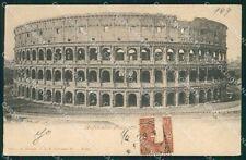 Roma Città Colosseo cartolina XB4655