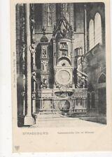 Strassburg Astronomische Uhr im Muenster Vintage U/B Postcard Germany 399a