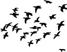 """DUCK HUNTING SPORTSMAN Vinyl Decal Sticker-6"""" Wide White Color"""