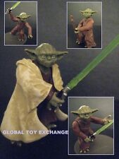 STAR WARS YODA JEDI MASTER FIGURE REVENGE OF THE SITH