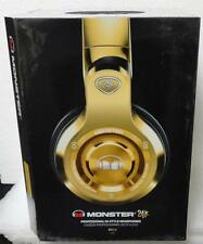 NEW Monster 24K Gold Professional DJ-Style Headphones Factory Sealed
