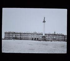 Glass Magic Lantern Slide Russia Winter Palace & Column St Petersburg GW Wilson