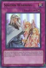 Yugioh Solemn Warning DREV-EN077 1st Ultimate Rare Near Mint Fast Shipping!