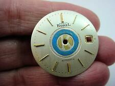 Kiwanis Ernest Borel Mens Vintage Watch Dial 28.56mm Pearl Automatic Gold Markrs