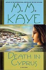 Death in Cyprus by M. M. Kaye (2001, Paperback, Revised)