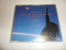 CD   Simply Red  ‎– Something Got Me Started (I'd Give It All Up For You)