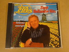 CD / KOOS ALBERTS - ZINGT HOLLANDSE HITS