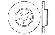 Disc Brake Rotor-High Performance Drilled And Slotted fits 92-95 Toyota MR2