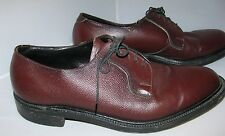 "VINTAGE MAURICE L ROTHSCHILD ""CANTERBURY"" MADE IN ENGLAND MENS SHOES SZ 9.5D"