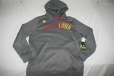 Barcelona Umbro Hoody Sweat Shirt Cold Gear Men XL Gray NEW